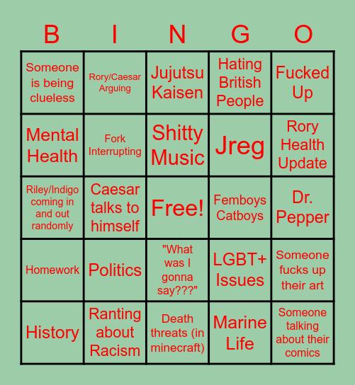 Tic Tac Bingo Card