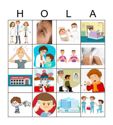 Campo médico Bingo Card