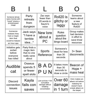 Big Banana Extravaganza Bingo Card