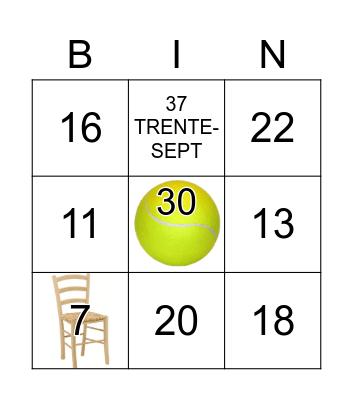 DVN - NOMBRES de 0-69 Bingo Card