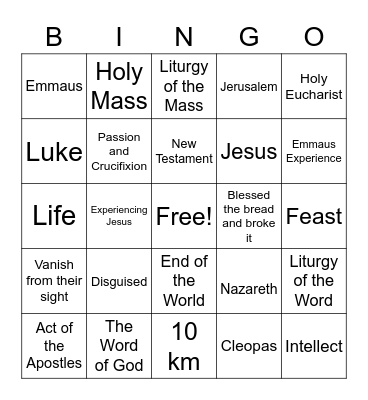 Chapter 11 Questions Bingo Card