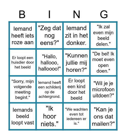 MEET Bingo Card