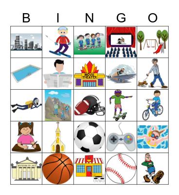 Descubre 1 Lección 4 Bingo Card
