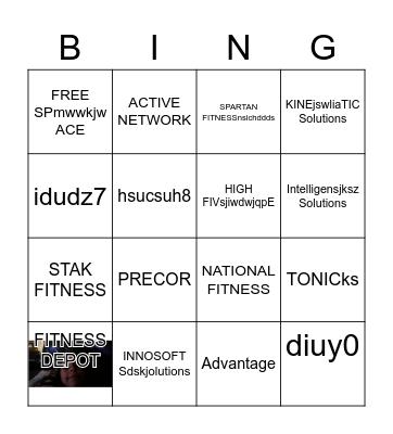 ECCRC BINGO! Bingo Card