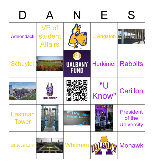 Great Danes Bingo Card