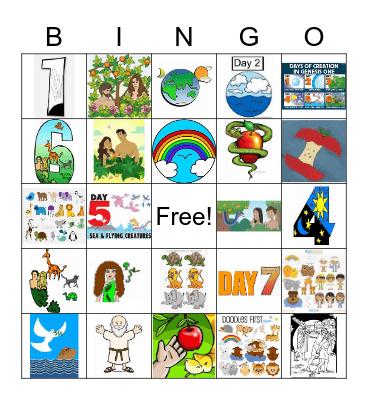 Weeks 1-4 Bingo Card