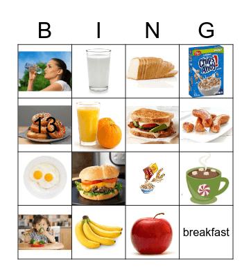 csl2 Breakfast Bingo Card