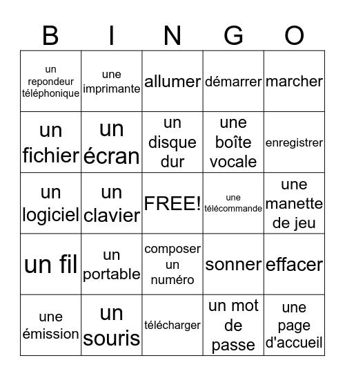 La technologie Bingo Card