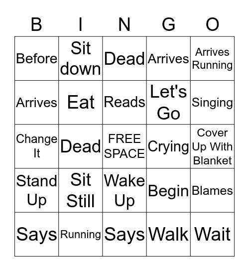 Native Language  Bingo Card