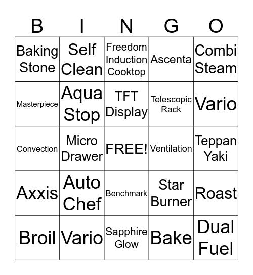 BSH Bingo Card