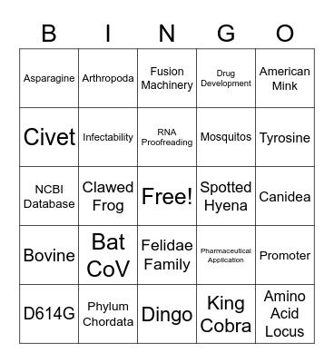 The Best Time Slot's Bingo! Bingo Card
