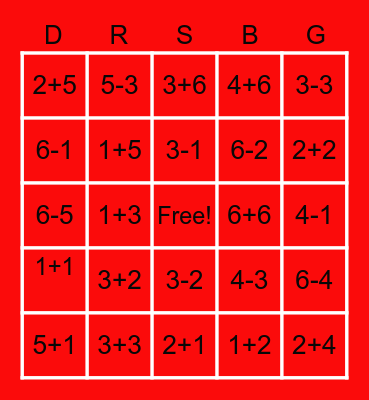 bingo with dr suess Bingo Card