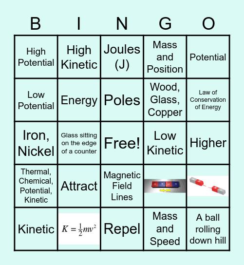 Unit 3 Common Assessment Review Bingo Card