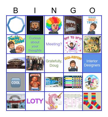 Doug!!!!!!!!!! Bingo Card