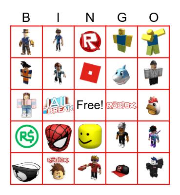 ROBLOX Bingo Card