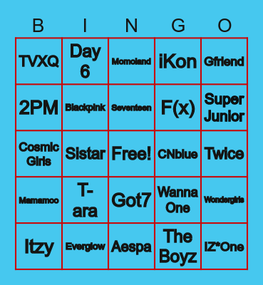 BluesnBlooms Bingo Card