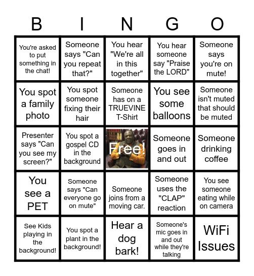 C & Y MINISTRY Bingo Card