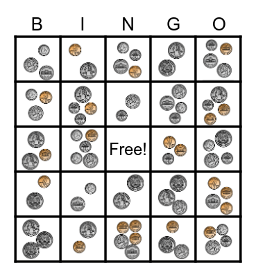 COIN BINGO Card