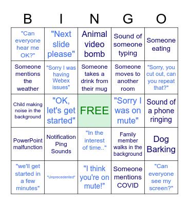 BOEC: March All Hands Call Bingo Card