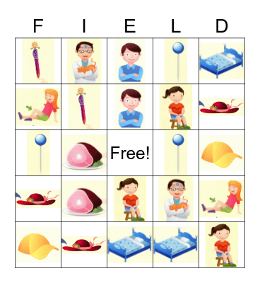 Field Super Bingo Card