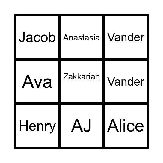 Literacy Choice Board Bingo Card