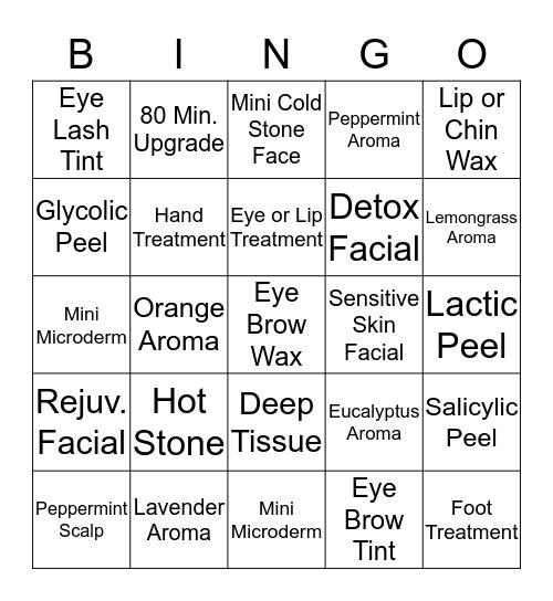 HS000 Bingo Card