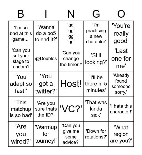Grind Server MM Bingo Card