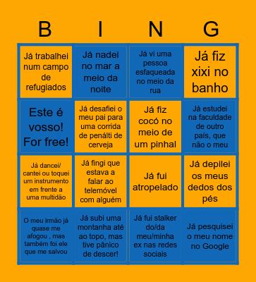 BINGO RING Bingo Card