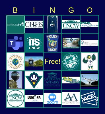 AdminSAC Joy Event: 2021 Bingo Card
