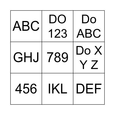 Instamind beginner Bingo Card