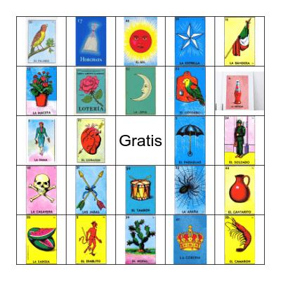 Loteria! Bingo Card