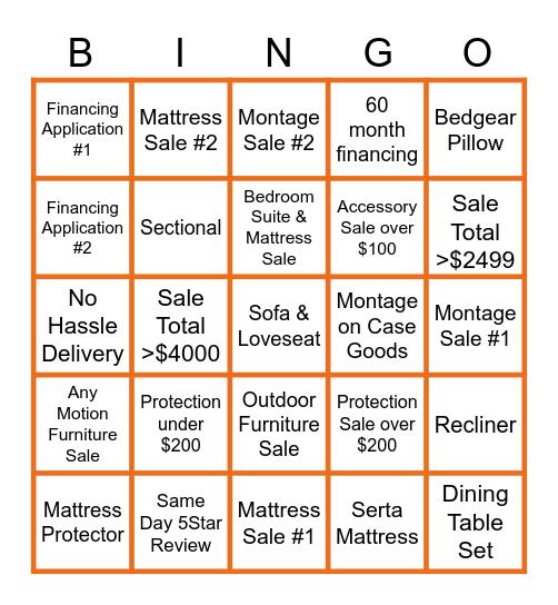 Ashley Homestore 04/17/21 Bingo Card