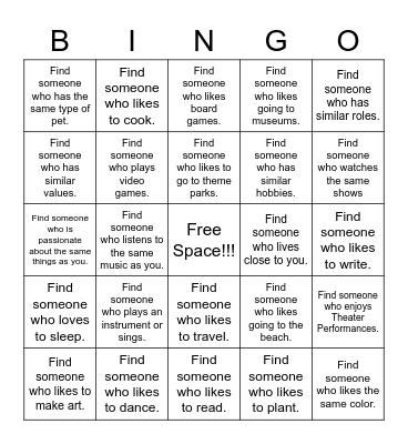 Identity Bingo 2: Electric Boogaloo Bingo Card