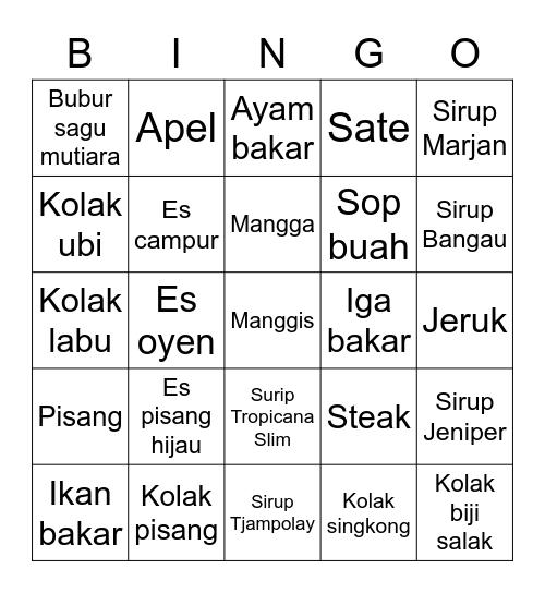 Chaery. Bingo Card