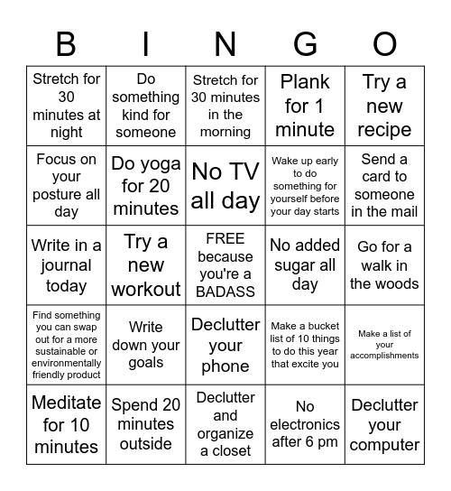 MAY Muscle Hustle Bonus DAY BINGO Card