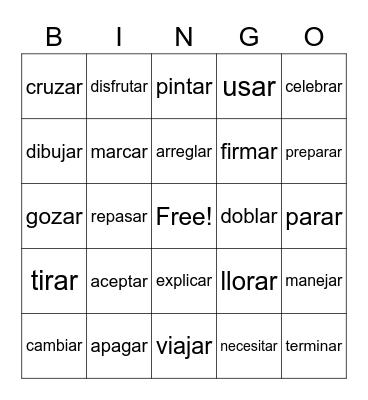 7.2 vocab REVIEW Bingo Card