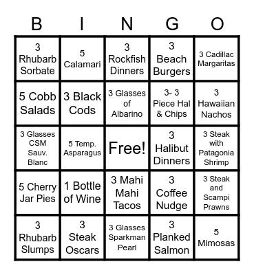 Mother's Day Bingo-fantasia Bingo Card