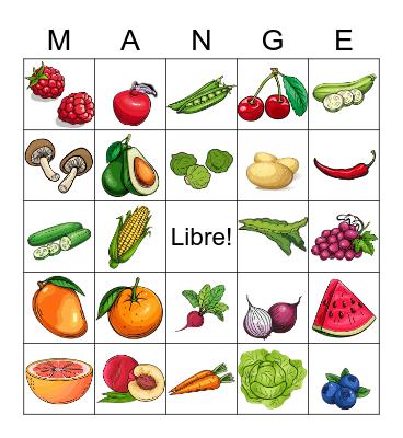 Bon Appétit ! Bingo Card