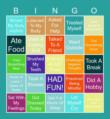 Brain Break Bingo! Bingo Card