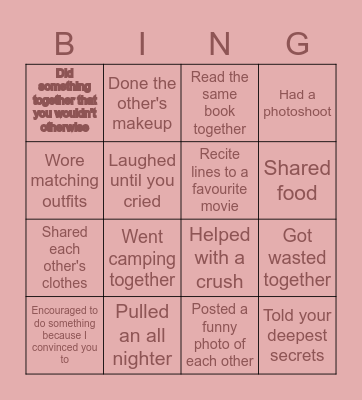 Arpitha's Birthday Bingo! Bingo Card