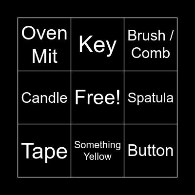 Scavenge This! Bingo Card
