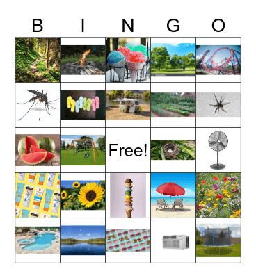 Nature! Bingo Card