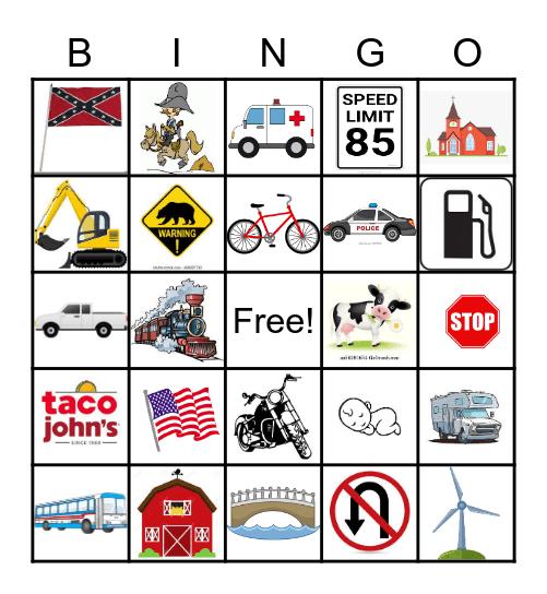 Yellowstone BINGO! Bingo Card