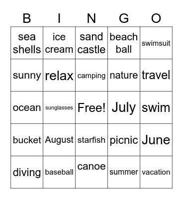 Friday Night Frenzy Bingo Card