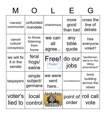 House Floor 2 Bingo Card