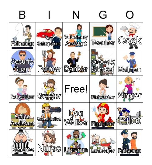 Job Bingo Card