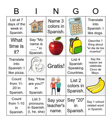 Encuesta: Repaso del año pasado y más Bingo Card