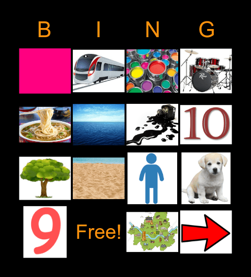 S A T P I N M D Bingo Card