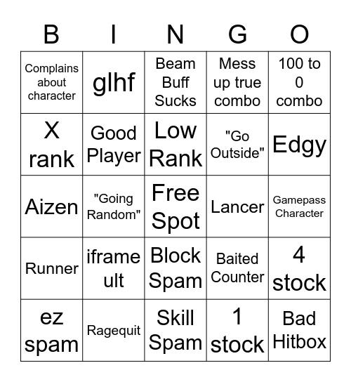 ABA Bingo Card