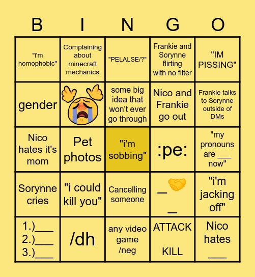 Daily SFN Bingo Card